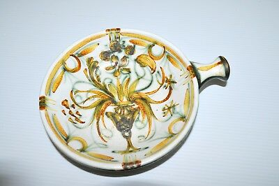 ANCIEN CAQUELON FAIENCE KERALUC QUIMPER VIDE POCHE déco collection vitrine XXe