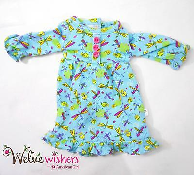 """Fantastic Firefly PJs Clothes for American Girl 14.5"""" Wellie Wishers Doll"""