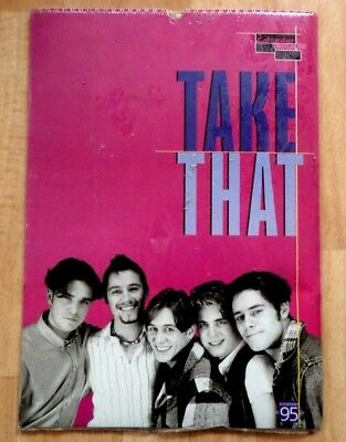 Take That  1995  Calender  *sealed*   Rare Official Merchandise