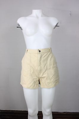 vintage Patagonia shorts 26/27 stand up 80's 90's beige cotton hiking