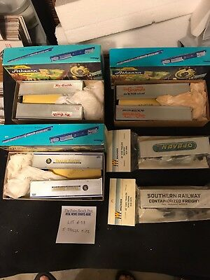 Ho Scale Trains 5 Misc. 40 Ft Trailer Kits Lot # 58