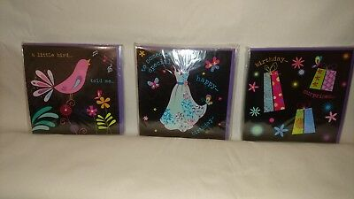 Job lot wholesale birthday cards - 48 cards in total