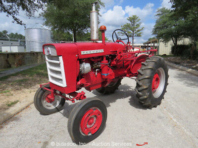 1962 Farmall 140 Tractor Utility Ag Farm PTO With Implements bidadoo