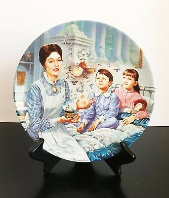 """Walt Disney: MARY POPPINS: """"Tuppence a Bag"""" Knowles Collector Plate #6 w/COA"""