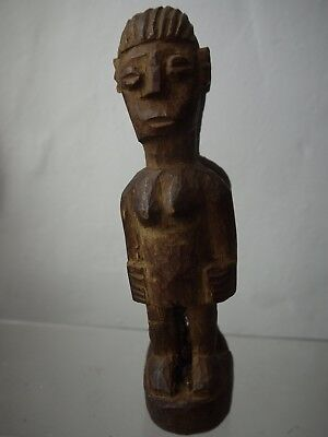 African tribal Janus twin figure.  Good natural patina.  Don't know tribe.