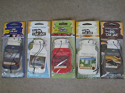Yankee Candle Car Jar Air Freshener 3 Pack