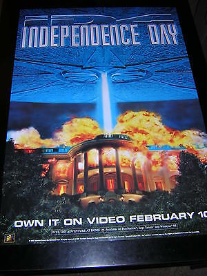 Original Promotional Poster - Independence Day