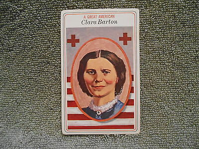 Big Boy Collector Card - 1975 # 25 Clara Barton