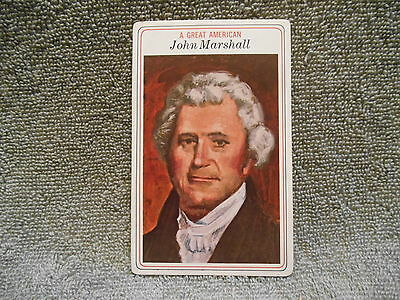 Big Boy Collector Card - 1975 # 27 John Marshall