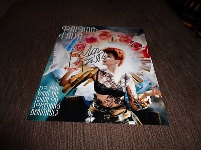 PALOMA FAITH signed photo [obtained in person]