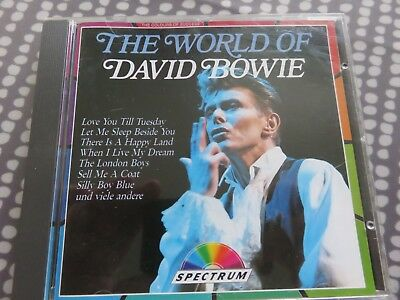 David Bowie - CD - The World Of David Bowie - Rare German Issue