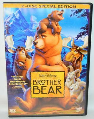 WALT DISNEY Brother Bear (DVD, 2004, 2-Disc Set, Special Edition) DVD ~137~