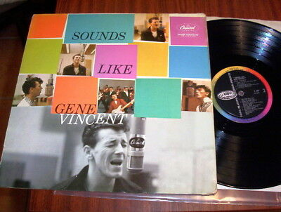 "Gene Vincent LP ""Sounds Like Gene Vincent"" super copy Capitol T1207"