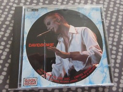 David Bowie - CD - Interview Picture Disc - V Rare - UK issue