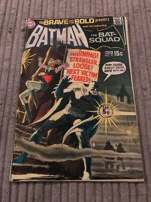 The Brave And The Bold #92 Batman And Bat-squad
