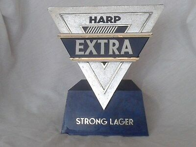 Harp Extra Strong Lager Bar Font – Pump Head