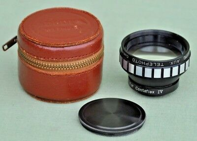 Accura Auxiliary Telephoto Lens Model V-T for  Zeiss Ikon Contaflex IV Cameras