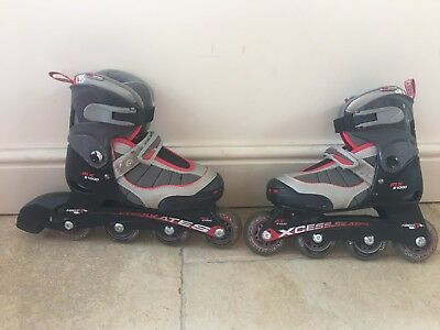 Roller Blades size M UK Sizes 12-2