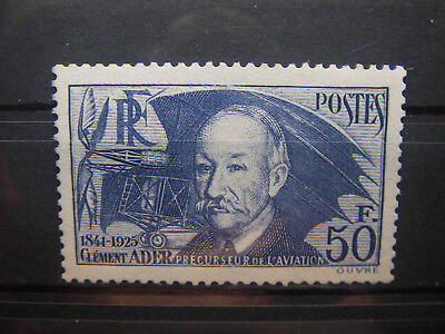1938   TIMBRE  FRANCE   yt  398  NEUF **