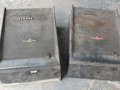 Pair Seeburg Jukebox Speakers