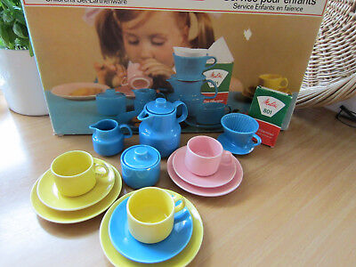 Melitta Kinder Filter Party Kinderservice Kindergeschirr original OVP