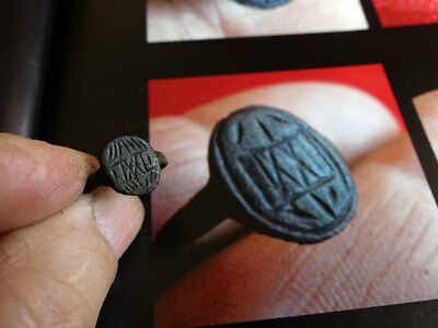 1600's French Jesuit Fur Trade Ring ~ IXXI