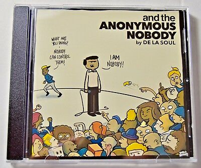 De La Soul - and the Anonymous Nobody - NEW CD