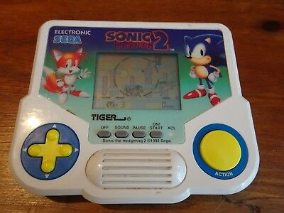 Sonic the Hedgehog 2 1988 TIGER Electronic Sega