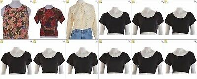 JOB LOT OF 60 VINTAGE WOMEN'S TOPS - Mix of Era's, styles and sizes (24648)