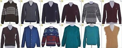 JOB LOT OF 14 VINTAGE MIXED KNITS - Mix of Era's, styles and sizes (23080)