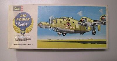 1:96 Revell H-137 B-24 Four Engine Bomber Consolidated B-24J Liberator