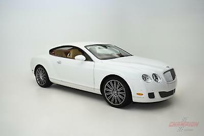 2008 Bentley Continental GT -- 2008 Bentley Continental GT Speed  27,822 Miles Glacier White Coupe W12 6L A