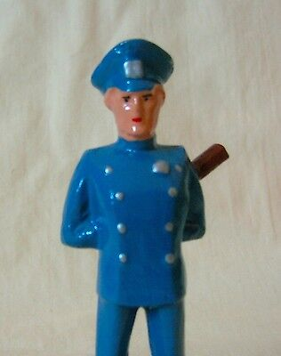 Policeman/Cop on the Beat, Standard Gauge train layout figure, New/Reproduction