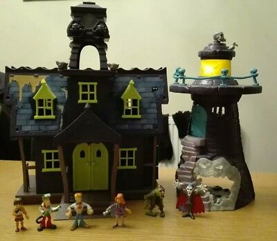 Scooby Doo Haunted House & Lighthouse