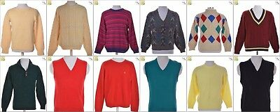 JOB LOT OF 16 VINTAGE MIXED KNITS - Mix of Era's, styles and sizes (24154)