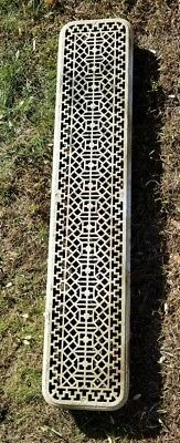 """1890's Antique Steam Radiator Grate Cover 43""""  *Pick Up Only"""