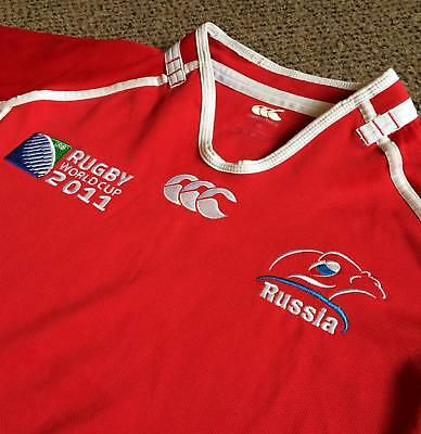 RUSSIA - Mens 2011 Rugby World Cup Shirt - XL