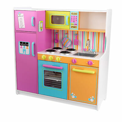 NEW Deluxe Big and Bright Kitchen - KidKraft,Toys
