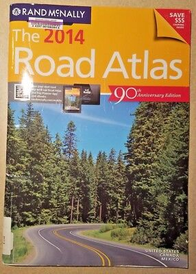 Rand McNally 2014 Road Atlas
