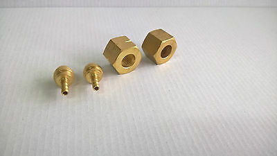 Australian fittings Oxygen and gas for 4mm hose.For brazing welding torch