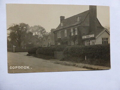 Old Rp Postcard - Copdock, Near Ipswich - Suffolk - Post Office