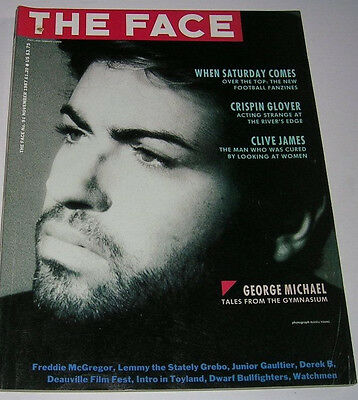 The Face Issue # 91 November 1987 George Michael Lemmy Watchmen Crispin Glover