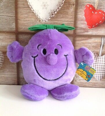"MR MEN - LITTLE MISS NAUGHTY PLUSH/SOFT TOY 12"" Tags"