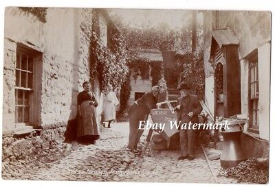Real Photographic postcard of Newlyn