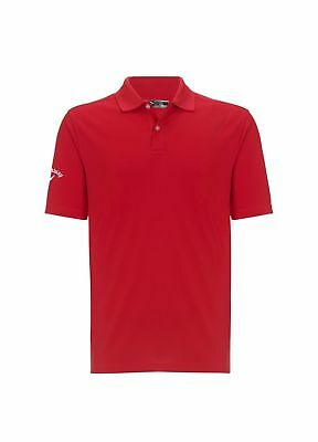 Callaway Golf Opti-Dri Polo Shirt Salsa Small