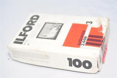 100 sheets Ilford Ilfospeed 3.44M 8,9x14cm 3.5x5.5 in B&W Photographic Paper