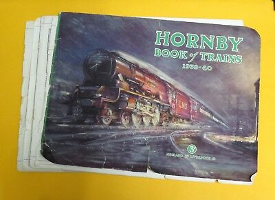 Hornby Book of Trains 1939 - 40