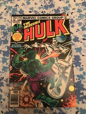 The Incredible Hulk #250 Guest Starring Silver Surfer
