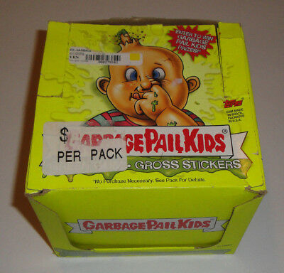 2003 Garbage Pail Kids All New Series 1 - ANS1 - Box with 6 Unopened Packs