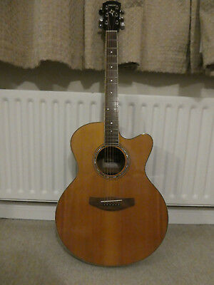 Yamaha Acoustic(Electric pick up) Guitar CPX 500II NT v good condition